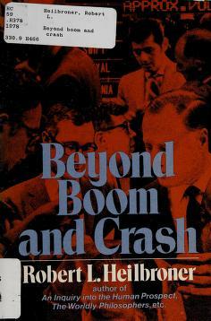 Cover of: Heilbroner Beyond Boom & Crash (Paper) | RL HEILBRONER