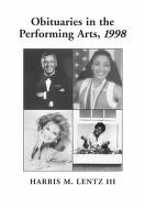 Cover of: Obituaries in the performing arts, 1998